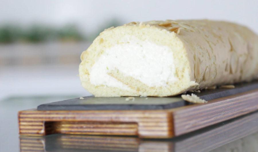 Tronco de queso y lima